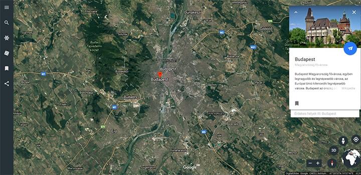 új Google Earth